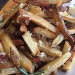 Rosemary Garlic and Sea Salt Fries.