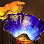 Chihuly - Blue Glass