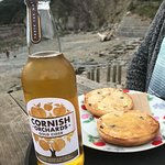Cider and a Toasted Tea Cake