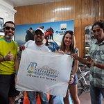 Time da agencia Quechua - organização perfeita