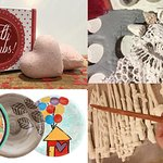 Pottery Painting, Wand, Pendant, Bath Bomb Making