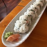 The large California Roll with my lunch