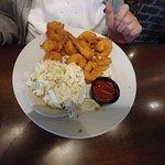 Fried Shrimp & Cole Slaw