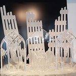9/11 memorial crystal piece