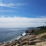 Beautiful vista/rugged Maine coast