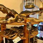 Gator paraphernalia for the discerning tourist