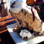 glace absolument géante et délicieuse!!