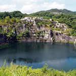 幻の湖です、周りの景観とマッチしていて素晴らしいです。