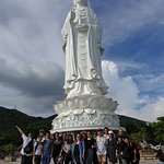 The majestic Buddha statue at Linh Ung Pagoda on Son Tra Peninsular