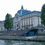 Musee d'Orsay from The Seine