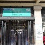 Entrance to Marché Beauvau