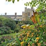 Sudeley Castle view from Secret Garden