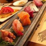 a variety of sashimi, yum !!!