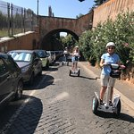 по дороге к Римскому форуму.
