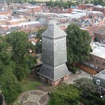 The new Bell Tower as viewed from the old Bell Tower