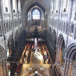 View from above the Altar
