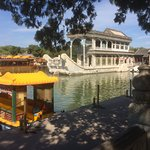 Summer Palace - the stone boat