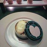 Tasting Menu, Course No. 2, Scones & Flan w/ caviar...Sublime!