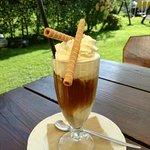 Eiscafe mit echtem Eis