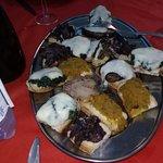 Bruschette della cena del 13-08-18