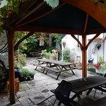 Beckets Inn beer garden 2.