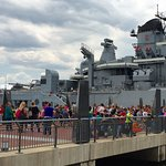 Guided student tours and educational programs are available. Email groups@battleshipnewjersey.or