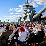 The Battleship has hosted weddings, reunions, birthdays and corporate event.  866-877-6262 x144