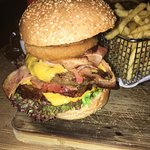 Der Rodeo-Burger...
