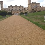 Looking down the drive to Osborne House