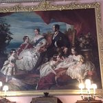 Painting of Queen Victoria and family