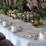 Dining table at Osborne House