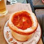 #papanasi #salatalempez #ciorba de fasole in paine