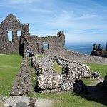 Parte lateral do castelo