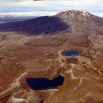 Bueatiful Tama Lakes Hidden between Mt Ruapehu and Ngauruhoe