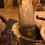 delicious organic white wine @ la torreta in Ibiza town