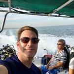 Relaxing boat ride to Isla Espiritu Santo