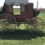 A stagecoach