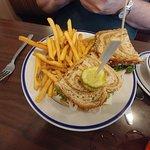 Deli Turkey Sandwich & Fries