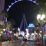 View from the LINQ Promenade.