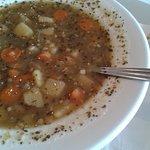 Potato soup just like mom's!