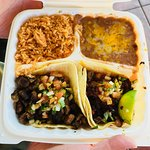 Two Taco Combination Plate