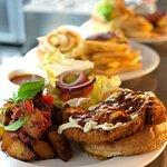 Panko Crumb Hot Chick Burger