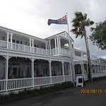 The oldest hotel in Russell