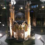 Макет мечети внутри Кул-Шарифа.
