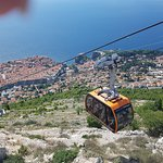 Фотография Канатная дорога в Дубровнике
