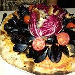 Пицца с морепродуктами 12€