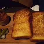 Duck Parfait. Do die for! and the bread, yum!