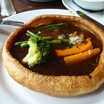 traditional roast served Yorkshire way