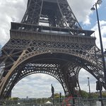 Eiffel Tower close up....