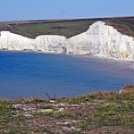 White cliffs of the Seven Sisters